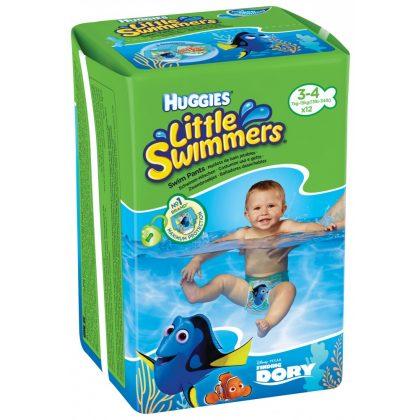 Huggies Swimmers úszópelenka (7-15 kg) + Ajándék homokozószett