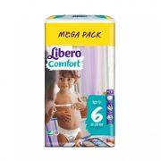 CSOMAGOLÁSSÉRÜLT - Libero Comfort pelenka megapack, Junior 6, 13-20 kg, 70 db