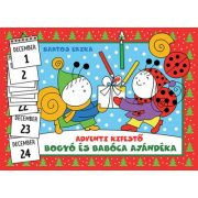 Bogyó és Babóca ajándéka - Adventi kifestő - Bartos Erika