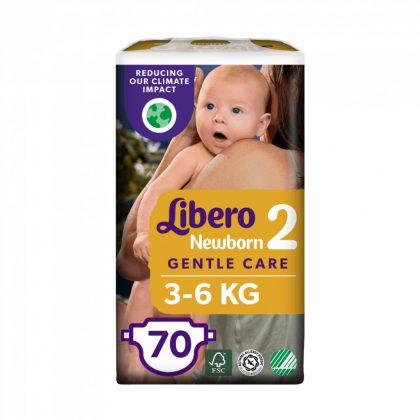 Libero Newborn pelenka, Mini 2, 3-6 kg, 70 db