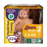 Libero Newborn nadrágpelenka Mini 2, 3-6 kg, HAVI PELENKACSOMAG 3x108 db