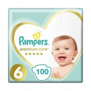 Pampers Premium Care pelenka, Junior 6, 13 kg+ HAVI PELENKACSOMAG 100 db