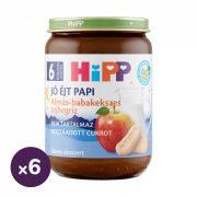Hipp BIO jó éjt papi almás-babakekszes tejbegríz, 6 hó+ (6x190 g)