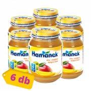 Hamánek bébidesszert alma - mangó, 4 hó+ (6x190g)