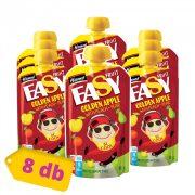 Hamánek Easy Fruit tasakos gyümölcspüré golden alma 5 hó+ (8x110 g)