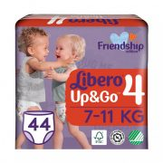 Libero UP&GO bugyipelenka, Maxi 4, 7-11 kg, 44 db