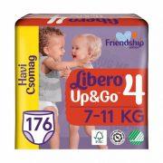Libero UP&GO bugyipelenka, Maxi 4, 7-11 kg, HAVI PELENKACSOMAG 4x44 db