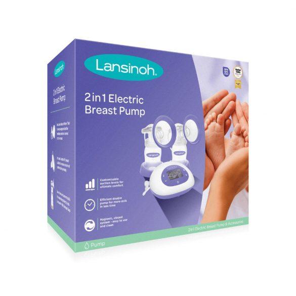 Lansinoh 2in1 professzionális elektromos dupla mellszívó