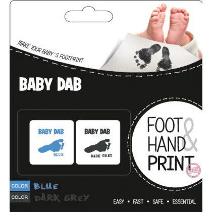 Baby Dab lenyomat készítő kék és szürke