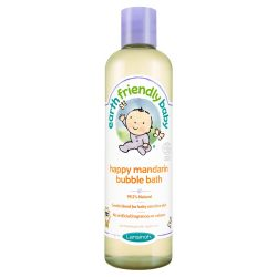 Earth Friendly Baby Organikus mandarinos habfürdő 300 ml