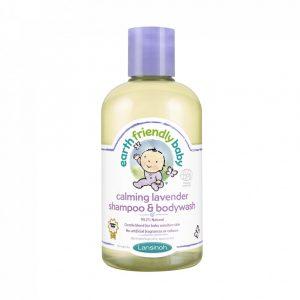 Earth Friendly Baby Organikus levendulás sampon és tusfürdő, 250 ml
