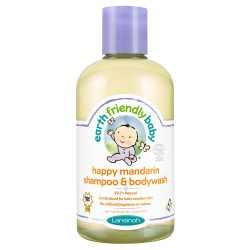 Earth Friendly Baby Organikus mandarinos sampon és tusfürdő 250 ml