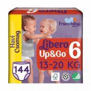 Libero UP&GO bugyipelenka, Junior 6, 13-20 kg, HAVI PELENKACSOMAG 4x36 db