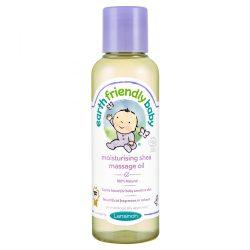 Earth Friendly Baby Hidratáló shea organikus masszázs olaj 125 ml