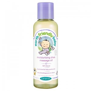 Earth Friendly Baby Hidratáló shea organikus masszázs olaj 125 ml