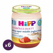 Hipp BIO alma-eper müzlis joghurtban, 7 hó+ (6x160 g)