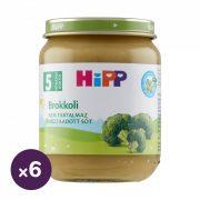 Hipp BIO Brokkoli főzelék, 5 hó+ (6x125 g)