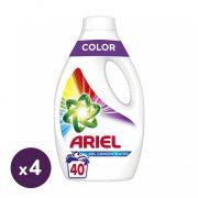 Ariel Color folyékony mosógél 4x2,2 liter (160 mosás)