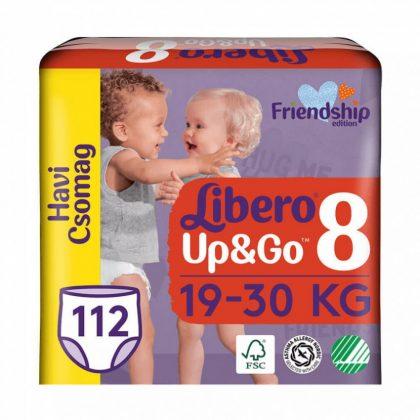 Libero UP&GO bugyipelenka, XL+ 8, 19-30 kg, HAVI PELENKACSOMAG 4x28 db