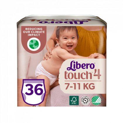 Libero Touch bugyipelenka, Maxi 4, 7-11 kg, 36 db