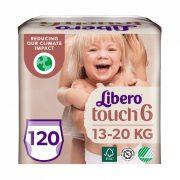 Libero Touch bugyipelenka, Junior 6, 13-20 kg, HAVI PELENKACSOMAG 4x30 db
