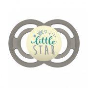 MAM Perfect Night világítós szilikon cumi 6 hó+ (fehér-zöld Little Star)
