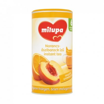 MEGSZŰNT - Milupa narancs- és őszibarack ízű instant tea 6 hó+ (200 g)