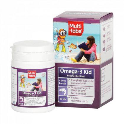 Multi-tabs omega-3 kid kapszula (30 db)