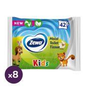 Zewa Kids nedves toalettpapír 8x42 db