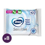 Zewa Sensitive nedves toalettpapír 8x42 db