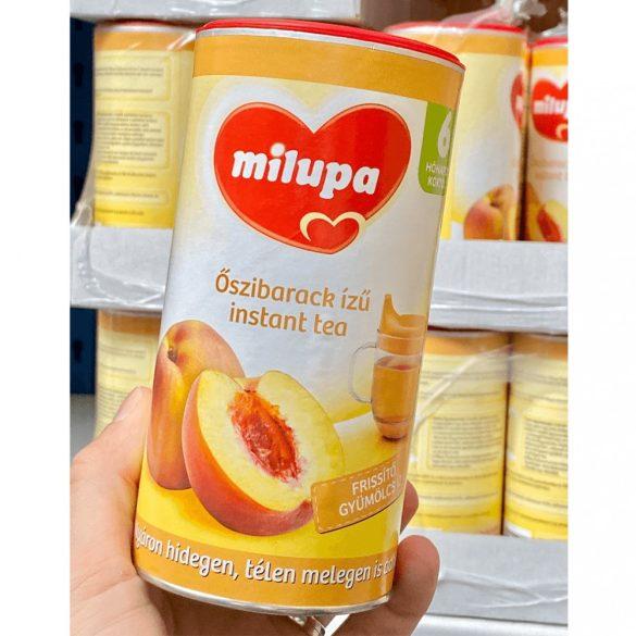 Milupa őszibarack ízű instant tea 6 hó+ (2x200 g)