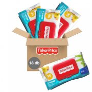 Fisher-Price kupakos nedves törlőkendő 18x96 db
