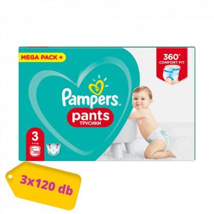 Pampers Pants bugyipelenka, Midi 3, 6-11 kg, 2+1, 360 db