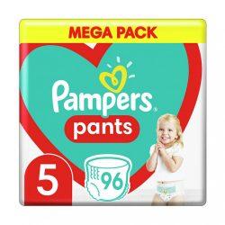 Pampers Pants bugyipelenka Junior 5, 12-18 kg HAVI PELENKACSOMAG 96 db