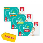 Pampers Pants bugyipelenka, XL 6, 15 kg+, 2+1, 264 db