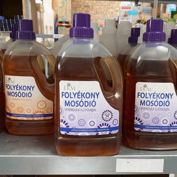 Kék folyékony mosódió levendula olajjal (1500 ml)