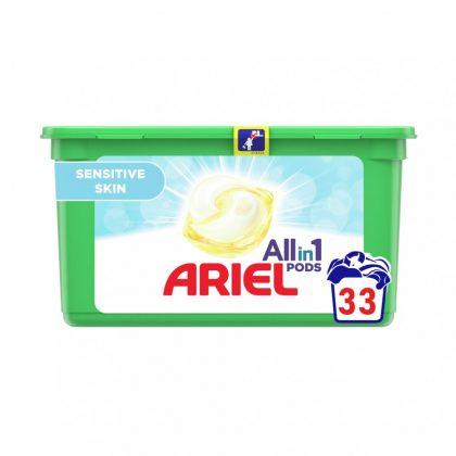 Ariel Sensitive mosókapszula (33 db)