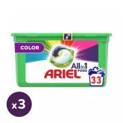 Ariel All in 1 Color mosókapszula (3x33 db)