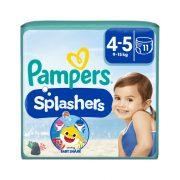 Pampers Splashers úszópelenka, méret: 4-5 (9-15 kg), 11 db
