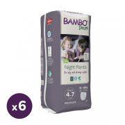 Bambo Dreamy éjszakai bugyipelenka 15-35 kg közötti lánynak, 6x10 db