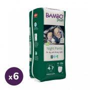 Bambo Dreamy éjszakai bugyipelenka 15-35 kg közötti fiúnak, 6x10 db