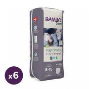 Bambo Dreamy éjszakai bugyipelenka 35-50 kg közötti lánynak, 6x10 db