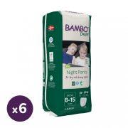 Bambo Dreamy éjszakai bugyipelenka 35-50 kg közötti fiúnak, 6x10 db