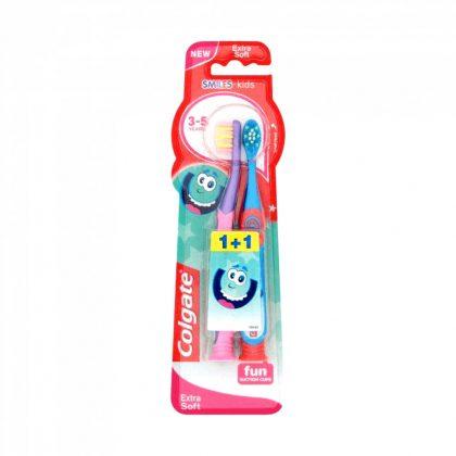 Colgate Smiles extra lágy gyerekfogkefe 3 éves kortól (2 db)