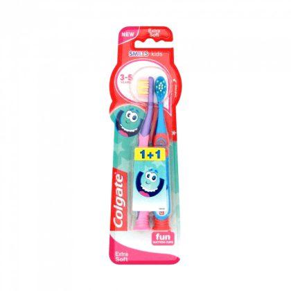 MEGSZŰNT - Colgate Smiles extra lágy gyerekfogkefe 3 éves kortól (2 db)