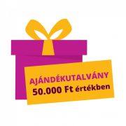 50.000 Ft értékű Pelenka.hu ajándékutalvány