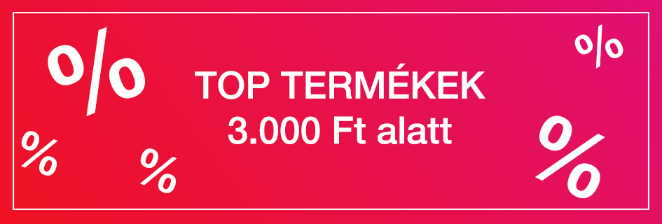 TOP TERMÉKEK 3.000 FT ALATT - Pelenka.hu